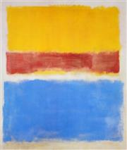 Sale 8403A - Lot 5015 - Mark Rothko (1903 - 1970) - Untitled (Yellow, Red and Blue), c.1953 63 x 52.5cm (frame: 89 x 78.5cm)