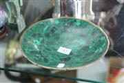Sale 8189 - Lot 45 - Malachite Dish