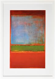Sale 8257A - Lot 26 - Mark Rothko (1903 - 1970) After. - Violet, Green and Red, 1951 80 x 50cm (gallery 108 x 76cm)