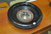 Sale 8275 - Lot 1050 - English Chad Valley Bakelite Roulette Wheel