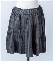 Sale 8541A - Lot 73 - A Karl Lagerfeld black pleated flared mini skirt, size France 40