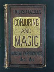Sale 8539M - Lot 8 - 'The Boys Own Conjuring Book: Being a Complete Handbook of Parlour Magic; and containing Over One Thousand Optical, Chemical Mechani..