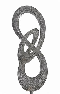 Sale 9161 - Lot 570 - ARI SETIAWAN Endless hand welded pieces of marine grade stainless steel 200 x 70 x 70 cm suitable for indoor and outdoor installation
