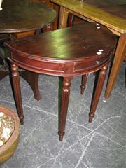 Sale 7937A - Lot 1126 - Demilune Hall Table