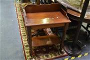 Sale 8031 - Lot 1021 - Timber Hall Table
