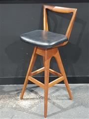 Sale 8705 - Lot 1007 - TH Brown Barstool