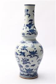 Sale 8706 - Lot 42 - Blue And White Chinese Vase
