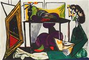 Sale 8791A - Lot 5004 - Pablo Picasso (1881 - 1973) - Interior with a Girl Drawing 55.5 x 82.5cm