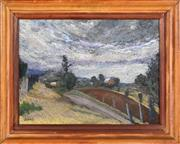 Sale 8394 - Lot 568 - Desiderius Orban (1884 - 1986) - Road to Camden 45 x 60.5cm