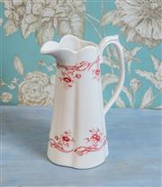 Sale 8500A - Lot 67 - A Marchand porcelain water pitcher - Condition: As New - Measurements: 24cm high