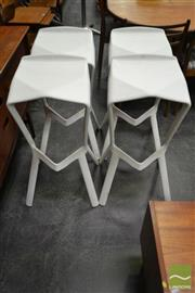 Sale 8511 - Lot 1011 - Set of Four Shark Stools by Grcic