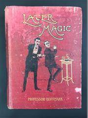 Sale 8539M - Lot 10 - Professor Hoffmann (Angelo Lewis), Later Magic. London: Routledge. First Edition (c. 1904). Original red cloth cover with gilt ill...