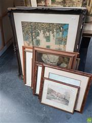 Sale 8573 - Lot 2031 - Collection of Various Framed Decorative Prints (approx 8), various sizes