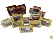 Sale 8648A - Lot 100 - Collection of 13 Matchbox Vintage Models of Yesteryear Cars Together with 3 Lledo Models of Days Gone (15) - Made in England