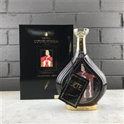 Sale 9079 - Lot 529 - Courvoisier Collection Erte No.4 - Vieillissement Limited Edition Extra Cognac - 40% ABV, in 24ct gold detailed decanter, 750ml in...