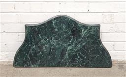 Sale 9102 - Lot 1313 - Serpentine front marble table top (w81 x d42cm)