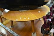 Sale 8054 - Lot 1074 - Round Maple Coffee Table