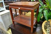 Sale 8147 - Lot 1094 - Rosewood Side Table