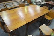 Sale 8275 - Lot 1092 - Teak Extension Dining Table