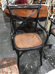 Sale 8889 - Lot 1415 - Set of Four Cross Back Carver Chairs