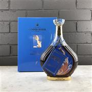 Sale 9079 - Lot 530 - Courvoisier Collection Erte No.5 - Degustation Limited Edition Extra Cognac - 40% ABV, in 24ct gold detailed decanter, 750ml in box