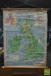 Sale 8260 - Lot 1025 - Robinsons School Map of the British Isles
