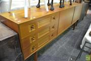 Sale 8326 - Lot 1032 - Quality McIntosh Teak Sideboard