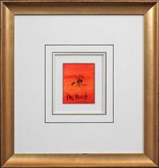 Sale 8415 - Lot 518 - Kevin Charles (Pro) Hart (1928 - 2006) - Ant 12.5 x 10cm