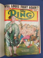 Sale 8419A - Lot 30 - The Ring 1950 - an original bound set of The Ring from January to December 1950, with great covers