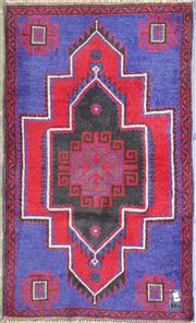 Sale 8996 - Lot 1085 - Hand Knotted Pure Wool Persian Baluchi (150 x 85cm)