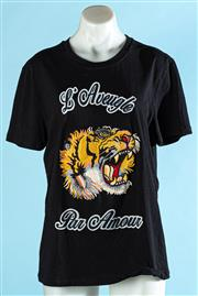 Sale 9090F - Lot 187 - A GUCCI T-SHIRT, with roaring tiger motif, Size S-M