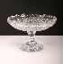 Sale 3650 - Lot 1 - A WATERFORD CRYSTAL COMPORT