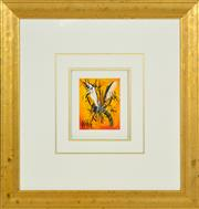 Sale 8415 - Lot 592 - Kevin Charles (Pro) Hart (1928 - 2006) - The Feast 13 x 10cm