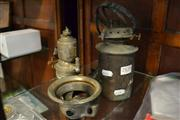 Sale 8447 - Lot 1018 - Bicycle Lantern and Ships Wall Mount Lantern