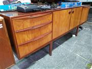 Sale 8550 - Lot 1043 - Quality McIntosh Rosewood Sideboard