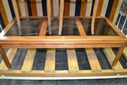 Sale 8093 - Lot 1184 - Timber Coffee Table