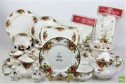 Sale 8481 - Lot 87 - Royal Albert 'Old Country Roses' Dinner/Tea Service