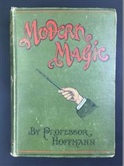 Sale 8539M - Lot 13 - Professor Hoffmann (Angelo Lewis), 'Modern Magic:  A Practical Treatise on the Art of Conjuring'. London: Hamley's Magical Saloons/R