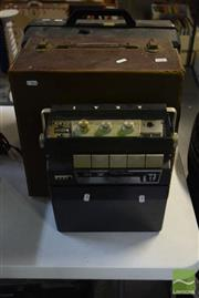 Sale 8530 - Lot 2106 - 2 Vintage Projectors & 4 Track Reel to Reel Tape Recorder