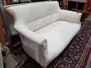 Sale 8740 - Lot 1287 - Fabric 2 Seater Settee