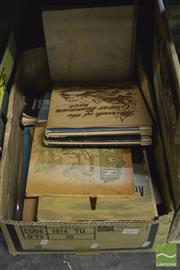 Sale 8407T - Lot 2385 - Box of Trade Cards & Albums