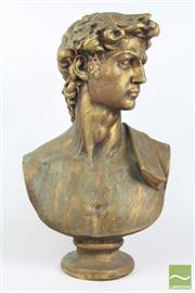 Sale 8516 - Lot 13 - Bust Of David