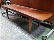 Sale 8566 - Lot 1094 - Superb Quality Danish Teak Coffee Table with raised edge