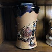 Sale 8795K - Lot 89 - A Sumida Gawa early C20th vase