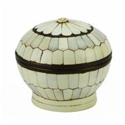 Sale 8162 - Lot 48 - Ivory Panelled Indian Box