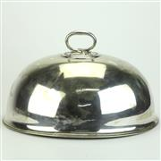 Sale 8413 - Lot 54 - Elkington & Co Silver Plated Oversized Food Dome