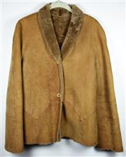 Sale 8460F - Lot 52 - A Loewe reversible calfskin jacket, marks to front, size approx 12