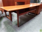 Sale 8607 - Lot 1022 - Superb Quality Danish Teak Coffee Table with Magazine Shelf (H: 51 W: 149 D: 90cm)