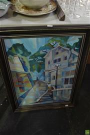 Sale 8563T - Lot 2207 - Nora Foy - Zurich, oil on canvas, 60 x 45cm, signed and inscribed verso