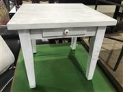 Sale 8912 - Lot 1098 - White Side Table